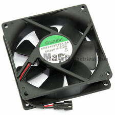 Sunon KDE2409PTB1-6A Fan 24V  3.6w 92*92*25MM 2Pin Cooling Fan