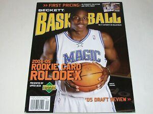 BECKETT Basketball Monthly Magazine September 2005 Dwight Howard Cover