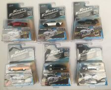 Fast And Furious, Rare complete collection of 6 cars. Build and Collect