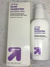 Up & Up Oil Free Facial Moisturizer Sensitive Skin Gentle Lotion 4 fl oz Pump
