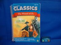 Leap Frog Pad Pro THE WIZARD OF OZ Book and Game Cartridge Classics Series