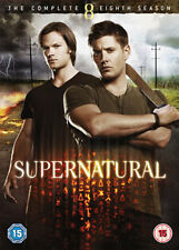SUPERNATURAL - SEASON 8 - DVD - REGION 2 UK