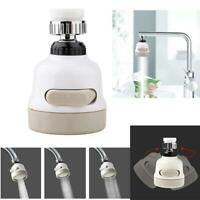 360° Rotating Faucet Nozzle Booster Shower Kitchen Water Saving Filter Tap Head