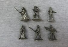 Lot of 8 Star Wars Monopoly Pewter Figures Limited Edition Han Solo C-3PO
