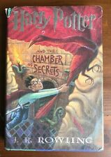 HARRY POTTER AND THE CHAMBER OF SECRETS 1st Printing True Errors HB/DJ Rowling