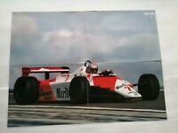 😍Poster Formule 1 John Watson McLaren Ford MP4/1B 1982 F1 Sport automobile A😍