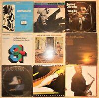 Jazz - Bop, 9 Vinyl Record Lot, 7 LP & 2 DLP, 6 US 1st Press, Wynton Kelly Sonny