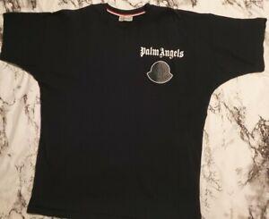 Palm Angels / Moncler Oversize Shirt / Marineblau / XL