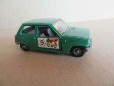 914J Mebetoys Mattel A94 Renault 5 TL # 9 vert 1:43