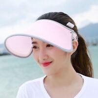 Women Ladies'  Anti UV Protection Golf Cap Tennis Outdoor Sports Visor Sun Hats