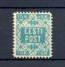 ESTONIA ESTLAND EESTI 1918  MI# 2 A  CV € 300   *  MH  VF