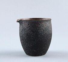 Simple Rust Glaze Firewood Ceramic Tea Pitcher Cha Hai 225ml