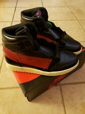 9ef2eea250f7aa Size 10 -DS NIB Nike Air Jordan 1 High OG Defiant Couture bred top 3