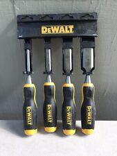 DEWALT 82448x  4 Piece Wood Chisel Set