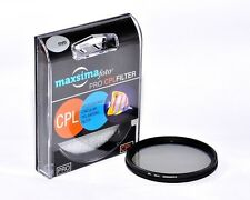 Maxsimafoto PRO Slim 40.5mm CPL Filter fits Sony A6000 A6300 with 16-50mm Lens