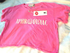 Wildfox Aphrodisiac (Shell in Middle) Crop Top, Super Cute! M NWT, Just Adorable
