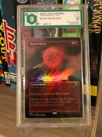 BLOOD MOON FOIL (IRREGULAR) DOUBLE MASTERS 2020 GRADED 9 MINT MTG ENG
