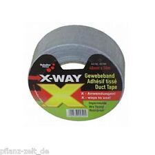 50m Gewebeband extra stabil 48mm breit Abluft Filter Klima Grow Indoor AKF