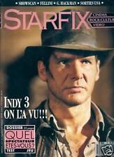 REVUE--STARFIX N° 74--FELLINI/INDY 3/SPIELBERG/LUCAS