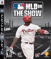 MLB 08: The Show (Sony PlayStation 3, 2008)