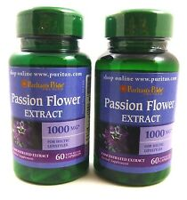2X PASSION FLOWER 1000 mg Extract 120 Capsules