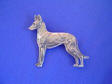 Pharaoh Hound Pin Egyptian anubis #54C Pewter Dog Jewelry by Cindy A. Conter