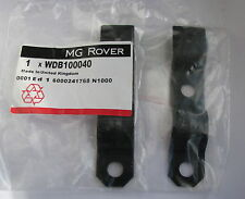 MG Rover F TF MGF MGTF Pair Silencer Heat Shield Support Brackets WDB100040 x 2