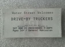Drive-By Truckers concert ticket Rochester NY 2015 English Oceans. not vinyl, cd