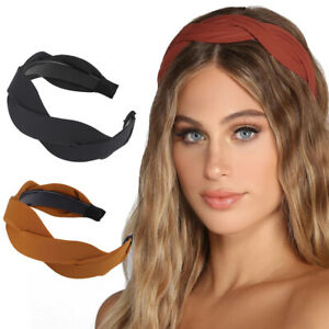 Women's Cross Hairband Headband Hair Band Hoop Accessories Head Wrap Headwear
