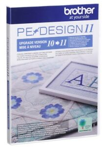Brother PE Design 11 UPGRADE ONLY from PE Design 10-11 - B317  UGKPED11