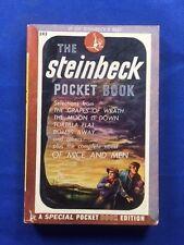 THE STEINBECK POCKET READER - FIRST EDITION BY JOHN STEINBECK