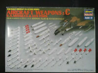 AIRCRAFT Weapons: C, U.S. Missiles, Hasegawa, Scale:1/48, Kit: X48-3, Rarität