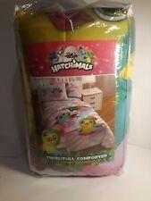 New Hatchimals Twin/ Full  Reversible Comforter-Full Sheet Set-Egg-Shopkins LEGO