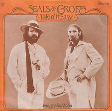 "7"" 45 TOURS HOLLANDE SEALS & CROFTS ""Takin' It Easy / Magnolia Moon"" 1978"