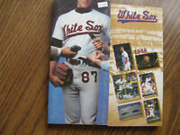 1987 & 1988 Chicago White Sox Media Guides - NM Condition