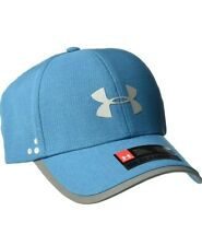 Under Armour Mens Flash ArmourVent 2.0 Cap, Plum Bayou Blue/Silver,One Size, 010
