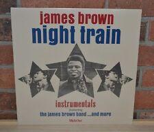 JAMES BROWN - Night Train, Limited Import 180 Gram RED VINYL LP New & Sealed!