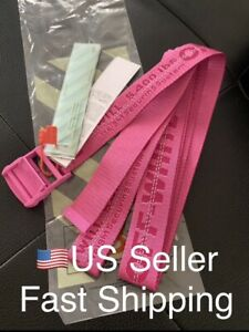 Off White Belt Pink W/ Tags & Bag
