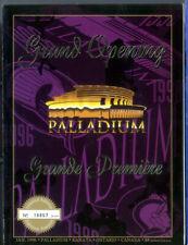 1- Hockey program  Grand Opening Palladium Limited Edition Ottawa Senators