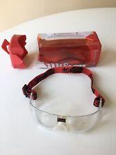 New Wilson Omni Protective Eyewear Racket Sports Goggles Clear R3000 Open Box