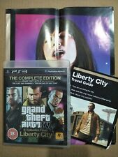 Grand Theft Auto IV: Complete Edition (PS3) Good Condition Travel Guide Case R18