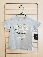Brand New With Tag Nike Dark Grey Faster Every Day Tee Shirt Size 6 Boys Sports