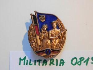 DDR FDJ Abzeichen Militärsportliches Leistungsabzeichen des MfS  Stufe I