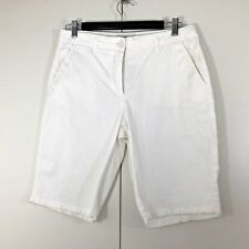COUNTRY ROAD Size 10 Womens Ladies Casual White Long Summer Shorts