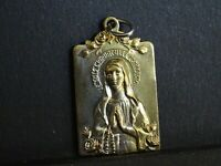 medaille religieuse Immaculate Conception  3 x 1.8 cm MR 0386