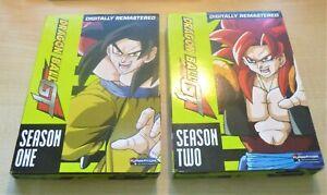 DRAGON BALL GT: Seasons 1 & 2 + Movie (Regions 1, 2 & 4) - Funimation - DVD!