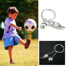 Keychain Fußball Schuhe Metall Fußball Schlüsselanhänger Auto Anhänger Schl J3O1