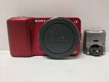 Sony Alpha NEX-3 14.2mp camera with flash unit