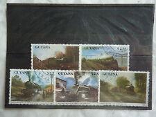 GUYANA - Trains, locomotive - 1990 - T30