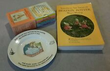 Lot Treasury of Peter Rabbit & Beatrix Potter 12 books wedgewood toy patterns